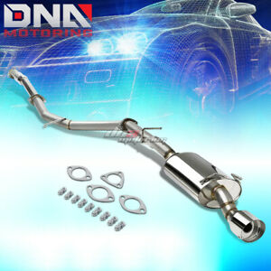 For 12 15 Honda Civic Coupe Fg3 Fg4 4 Oval Tip Stainless Exhaust Catback System