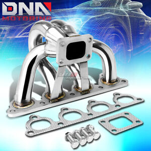 For D series D15a D16a T25 t28 Stainless Racing Turbo Charger Manifold Exhaust