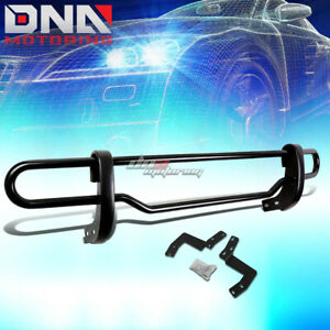 For 05 12 Nissan Pathfinder Black Coated Double tube Rear Bumper Protector Guard