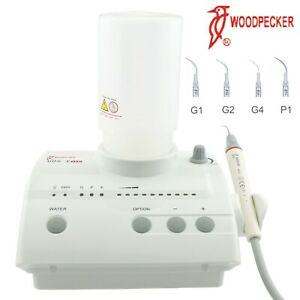 Woodpecker Dental Piezo Ultrasonic Scaler Handpiece Uds e Led 110v 220v Ems Fit