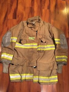 Firefighter Globe Turnout Bunker Coat 42x35 G xtreme Halloween Costume