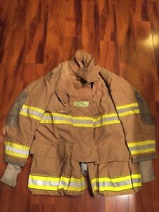 Firefighter Globe Turnout Bunker Coat 45x35 Halloween Costume