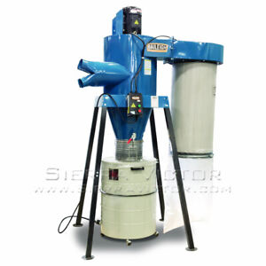 Baileigh Cyclone Dust Collector Dc 3600c
