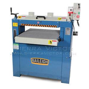 Baileigh Heavy Duty Drum Sander Sd 255