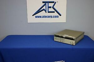 Agilent hp 83752b 01 20ghz Synth Sweep Generator W Opt 1e1