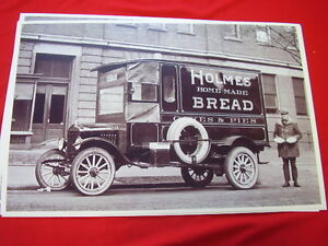 1923 Ford Model T Bread Truck 11 X 17 Photo Picture
