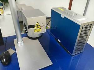 20w Fiber Laser Marking Machine Metal Steel Engraving 110v 220v Us Ship Ce fda