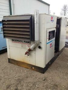 Used 150 Hp Ingersoll Rand Air Compressor 460v 670 Cfm In Nj