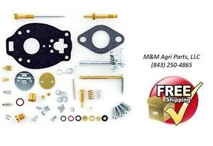 Complete Carburetor Repair Kit Case Ih Va Vac Tractor Tsx597 Carb