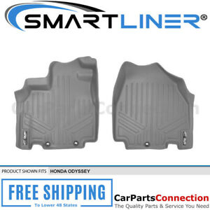 Maxliner All Weather Floor Mats For Honda Odyssey 11 17 First Row Set Grey A2103