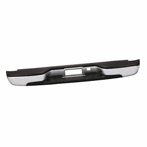 Rear Step Bumper Assembly Steel For 99 07 Silverado Sierra 1500 W Bracket Bolts
