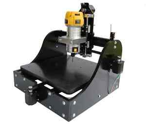 Millright Cnc Machine Kit 3 Axis In Black Cnc Router And Pcb Milling Us Seller