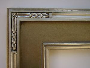 Custom Hand Made Wide Plein Air Silver Arrow Carve Frame Any Size Up To 20x24