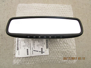 10 13 Toyota Tundra Sr5 Limited Platinum Rear View Mirror Back Up Camera Display