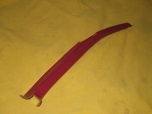 Datsun 280zx Lock Pillar Trim Passenger Side Red Color 1979 1983