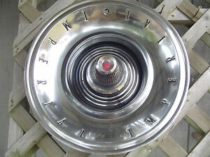 1962 62 Chrysler Imperial Hubcap Wheel Cover Center Cap Antique Vintage Classic