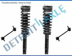 2010 2011 2012 Ford Fusion Milan 2 5l Front Strut Coil Spring Sway Bar Links