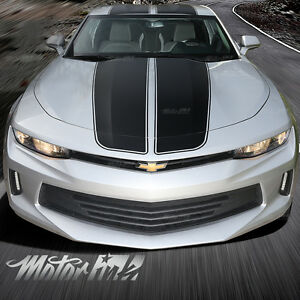 2016 2017 Chevy Camaro Rally Racing Hood Roof Trunk Stripes Vinyl Decals Sport