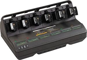Motorola Nntn8844a Impres 2 Multi unit Charger For Apx 6000 7000