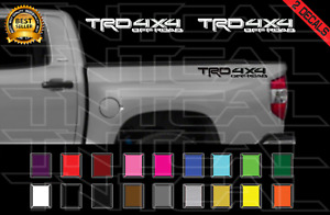 Trd 4x4 Off Road Decals Toyota Tundra Truck Bed Vinyl Stickers X2 14 17