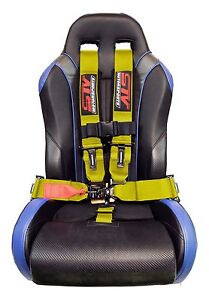 Stv Motorsports Racing Safety Seat Belt Harness 5 Point 3 Can Am Truck Yellow