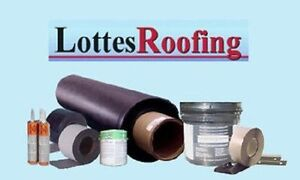 Epdm Rubber Seamless Roofing Kit Complete 1 500 Sq ft By The Lottes Companies