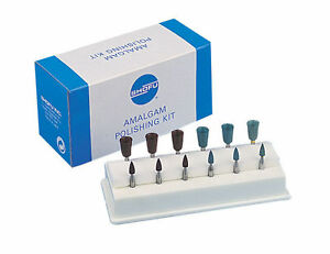 4x Shofu Dental Amalgam Polishing Kit For Contra angle Low Speed Handpiece