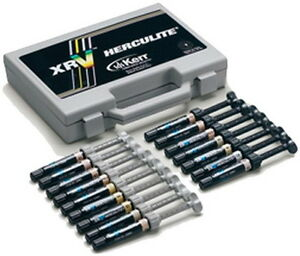 Herculite Xrv 16 Syringes General Kit With Optibond Solo Plus Kerr