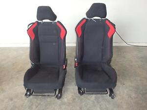 2013 2016 Scion Fr S Black Red Cloth Front Seats Driver Frs Hot Rod