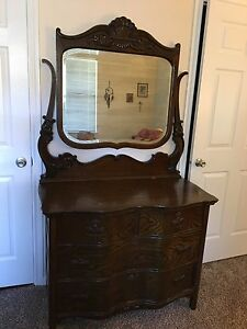 Beautiful Antique Victorian Dresser