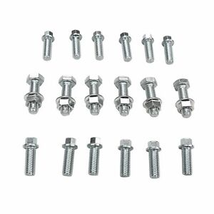 Stainless Steel Long Tube Racing Exhaust Manifold Header For Chevy Sbc V8 77 84