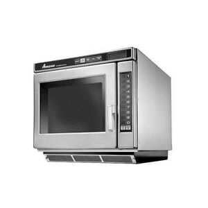 Amana Rc30s2 Commercial 1 Cuft Microwave Oven Programmable S s 3000w