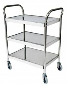 Grafco 8146 Stainless Steel Utility Cart