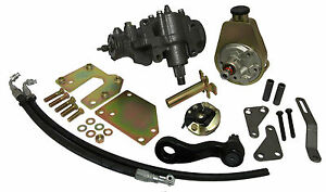 1960 66 Chevy And Gmc Truck Power Steering Conversion Kit Small Block Chevy
