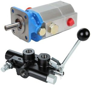 16 Gpm 2 Stage Hydraulic Log Splitter Pump Directional Control Detent Valve Kit