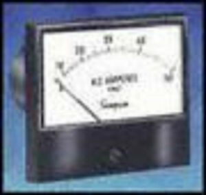 17733 Ac Voltmeter Iron Vane Model 2153 3 1 2 0 300 Volts Anal0g Panel Instru