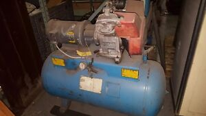 Automan Ae6 Direct Drive Single Stage Air Compressor 2 Cyl 5 Hp 3 Phase