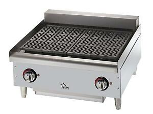Star 5124cf Star max Countertop 24in Electric Charbroiler
