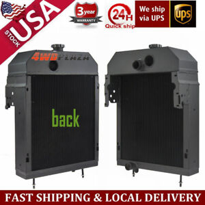 5row Tractor Radiator 361704r93 Aftermarket Case International farmall 300