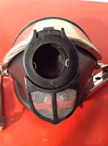 Drager Panorama Nova Full Face Respirator Mask Used Used