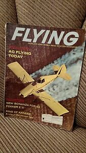 May 1964 Issue of FLYING Aviation Magazine NEW BONANZA FOR 64 FOKKER E III $8.99