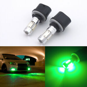 2pcs Green 880 899 890 892 893 High Power Led Bulbs For Car Driving Fog Lights