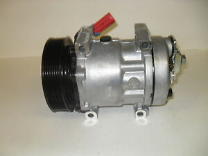 Sanden 4754 Rebuilt Caterpillar A c Compressor With Clutch