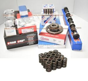Chevy 400 Engine Kit Pistons Cam Lifters Bearings Gaskets Rings 1970 W springs