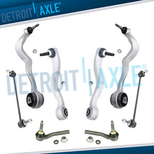 New 8pc Complete Front Forward And Rearward Control Arm Suspension Kit For Bmw