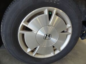 Oem 15x6 Alloy Wheel 2006 2015 Honda Civic Tire Not Included 5 Spoke