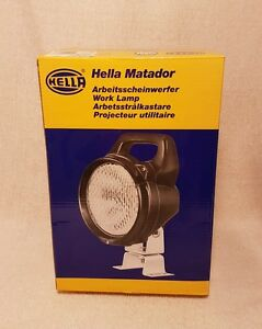 New Hella H15470001 Off Road Work Light New In Box Ready For Use