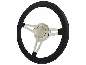 Hot Rod Rat Rod Steering Wheel Full Kit Gm Ididit Mopar Hub Adapter