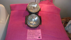 1966 Cadillac Fleetwood Deville Factory Gm Headlight Bucket Trim Rings Free Ship