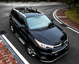 Fit For Toyota Highlander Xle Limited 2014 2018 Roof Luggage Rack Cross Bar Rail